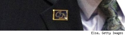 Chuck Daly lapel pin