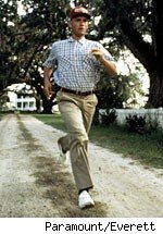 Forrest Gump is Clay Travis Jogging