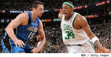 Paul Pierce and Hedo Turkoglu