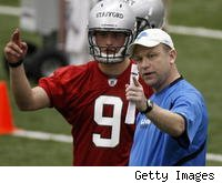 New offensive coordinator Scott Linehan and quarterback Matthew Stafford are just two of the new pieces to the puzzle for the Detroit Lions, who went 0-16 in 2008.