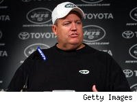 Jets coach Rex Ryan is making plenty of off-season news with his mouth.
