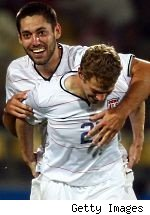 Clint Dempsey and Jonathon Spector