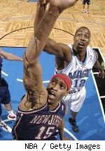 Vince Carter and Dwight Howard