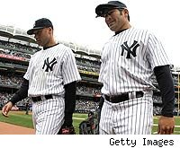 Derek Jeter, Johnny Damon