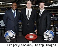 Detroit Lions Martin Mayhew Jim Schwartz
