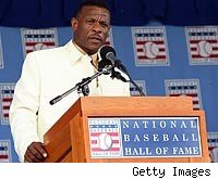 Rickey Henderson gives his Hall of Fame speech