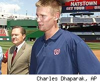 Scott Boras and Stephen Strasburg