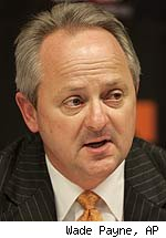 Mike Hamilton, Tennessee athletic director