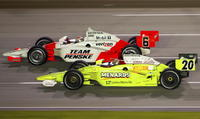 IndyCar Kentucky Speedway Ryan Briscoe Ed Carpenter Penske Racing Vision Racing Tony George IRL