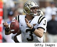 Western Michigan quarterback Tim Hiller