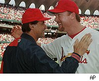 Tony LaRussa and Mark McGwire