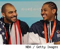 Carlos Boozer and Carmelo Anthony