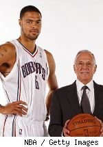 Tyson Chandler and Larry Brown