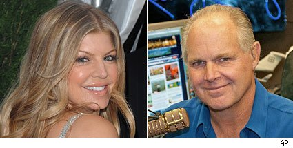 Fergie, Rush Limbaugh