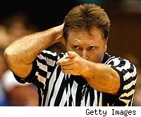 ACC referee Karl Hess