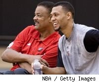 Maurice Lucas and Brandon Roy