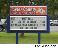 Taylor County High School