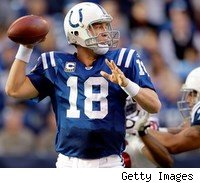 Peyton Manning and the Colts stayed unbeaten with a win over the Texans, but it sure wasn't easy.