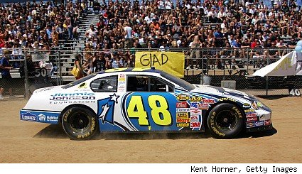 Jimmie Johnson's #48