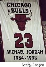 Michael Jordan's retired number