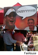 Sign in the Grove, Leigh Kiffin and Monte Kiffin