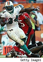 Ricky Williams fantasy football running back rankings Week 11