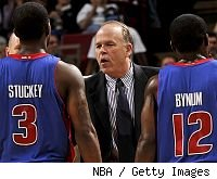 Rodney Stuckey, John Kuester and Will Bynum
