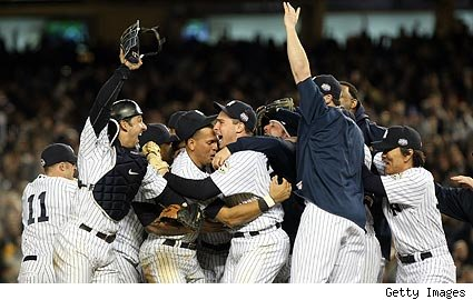 Yankees Capture 27th World Series Title