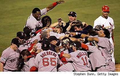 Boston Red Sox 2004 World Series Champions