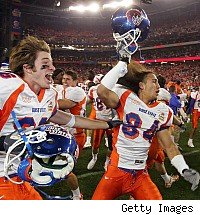Boise State celebrates
