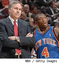 Mike D'Antoni and Nate Robinson