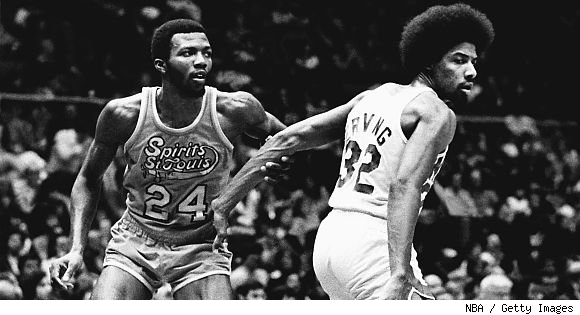 Marvin Barnes and Dr. J