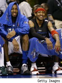 Tracy McGrady, Allen Iverson