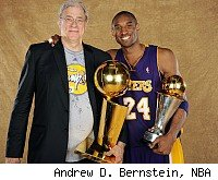 Phil Jackson, Kobe Bryant