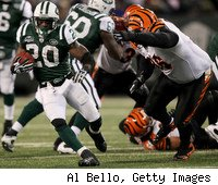 Nobody could stop Thomas Jones and the Jets' running game in 2009 -- no matter how hard they tried.