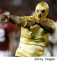 BCS Streaker? Nope, Just a Masked Man