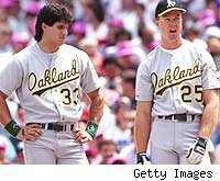 Jose Canseco and Mark McGwire