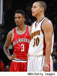 Stephen Curry, Brandon Jennings