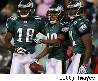 2009 first-rounder Jeremy Maclin (left) is part of a strong young skill-position group in Philadelphia.