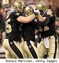 Garrett Hartley game winner