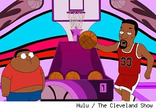 Scottie Pippen Balls Deep The Cleveland Show