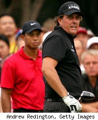 Tiger Woods, Phil Mickelson