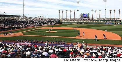Goodyear Stadium in Cactus League