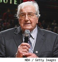 Dolph Schayes in Feb. 2009