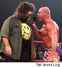 Mick Foley / Kurt Angle