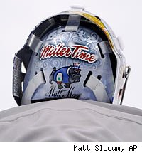 Ryan Miller's goalie mask