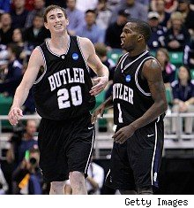 Gordon Hayward, Shelvin Mack