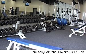 Bakersfield Jam workout facility