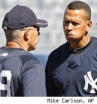 Joe Girardi and Alex Rodriguez