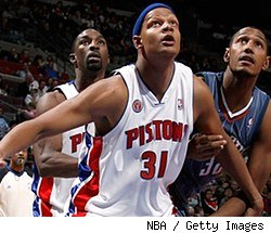 Ben Gordon and Charlie Villanueva